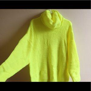 Zara Sweaters - Neon sweater